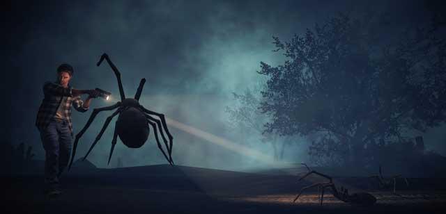 Alan Wake American Nightmare одержимые-пауки