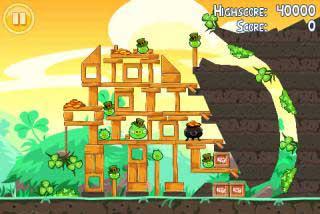 Angry Birds Seasons День Святого Патрика