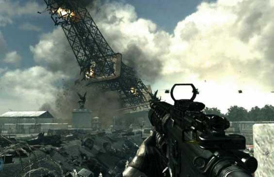 Call of Duty Modern Warfare 3 тяжелое оружие