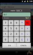 ConvertPad для Android ввод величин