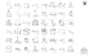 Doodle Cat на Android предметы