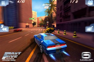 Fast Five the Movie: Official Game HD гонки на Android