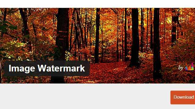 Image Watermark настройки и особенности