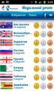 Лондон 2012: Медальный зачет на Android