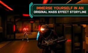 Mass Effect на Android геймплей