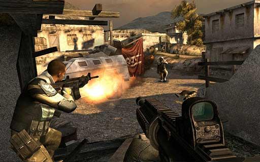 Modern Combat 3: Fallen Nation спецэффекты, как всегда, на высоте