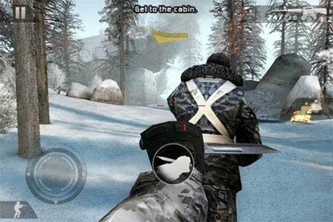 Modern combat 2: Black Pegasus тихо подкрался