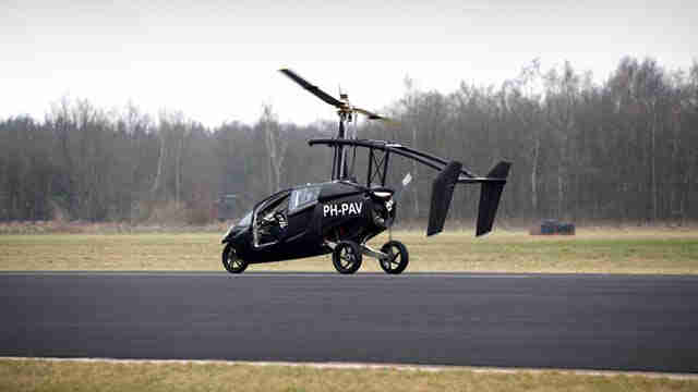 PAL-V One - летающий мотороллер