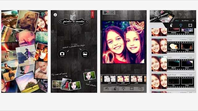 Pixlr-o-matic обработка фото на смартфоне