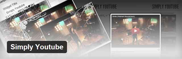 Simply Youtube для WordPress