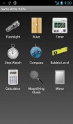 Swiss Army Knife на Андроид главный экран