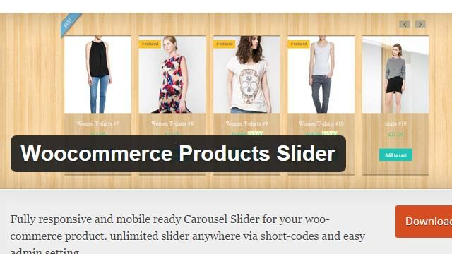 Woocommerce Products Slider ParaTheme