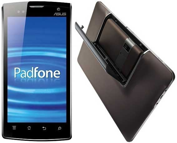 Asus Padfone смартфон и планшет одновременно