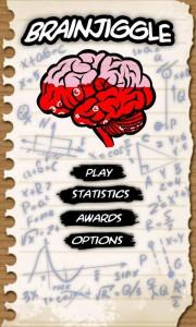 Brain Jiggle для Android главное меню