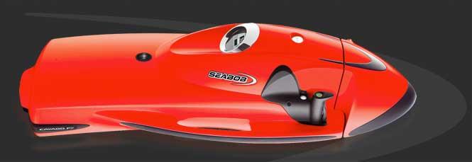 Дайвинг скутер SEABOB Cayago F7