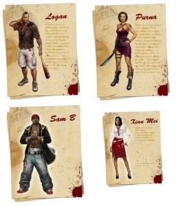 Dead Island Главные герои