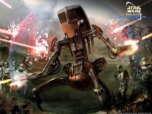 Дройдека, дроид-колесо, дроид-разрушитель