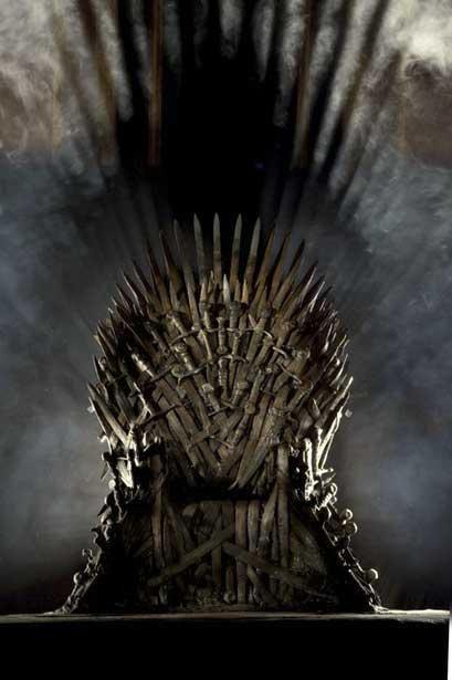 Game of thrones (Игры престолов сезон 2) Железный трон