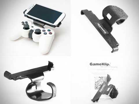 Gameklip - крепление для джойстика и смартфона на Android