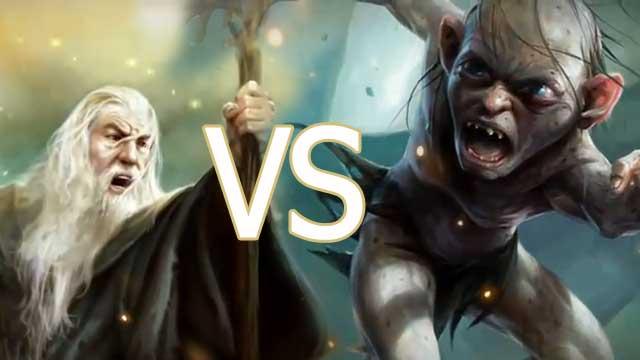 Гендальф против Голлума Guardians of Middle-earth