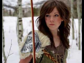 Линдси Стирлинг (Lindsey Stirling) - Скайрим