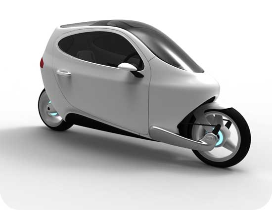 Lit motors C-1 электромобиль