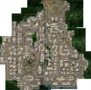 Карта Морсби, Dead Island