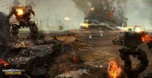 Mechwarrior Online 2012