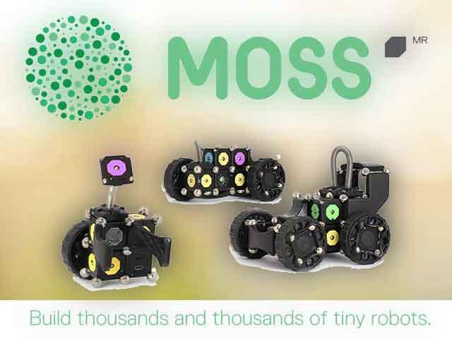 Moss конструктор роботов