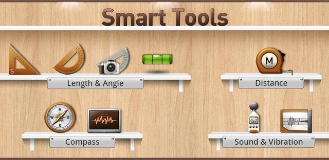 Smart Tools измерения углов, расстояний, шума и вибрации