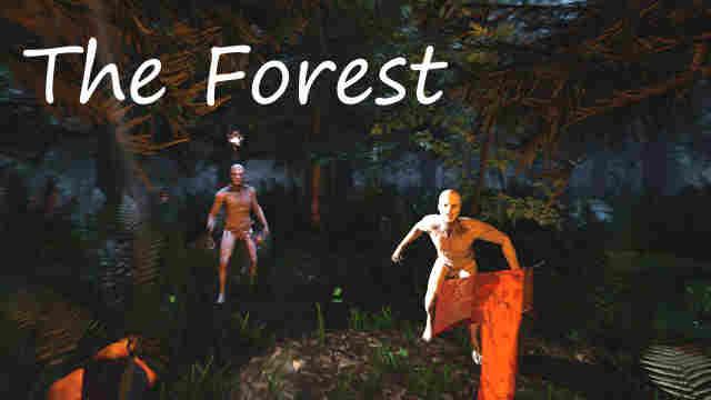 The Forest темный лес