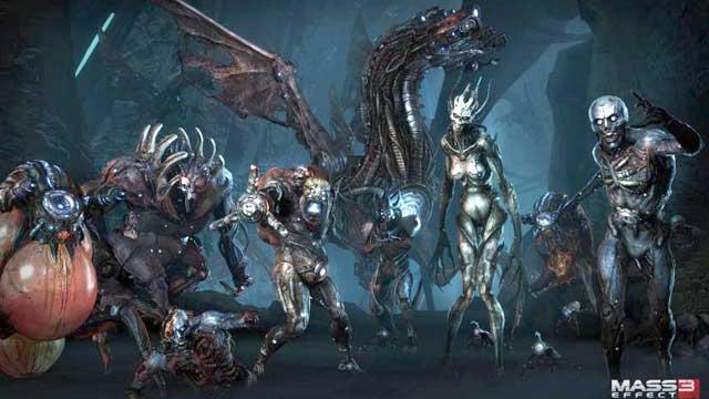 Mass Effect 3 войска жнецов